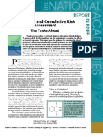 Phthalates and Cumulative Risk Assessment, Report in Brief