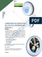 Guía de ejercicios de Cálculo Diferencial parcial I Alumno (febrero 2018).pdf