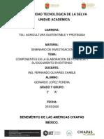 SEMINARIO DE INV. - COMPONENTES EN LA ELABORACION DE PONENCIA Y SU DOCUMENTO EN EXTENSO