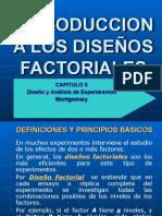 Capitulo 5 Introducción a los Diseños Factoriales