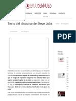 Texto del discurso de Steve Jobs -.pdf