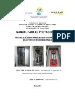 MANUAL INSTALACION  DE  PANELES