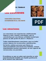 1.3 LAS EMOCIONES. Presentacion