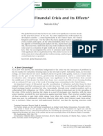 Global Financial Crisis and Its Effects