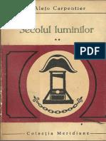 Alejo Carpentier - Secolul luminilor vol 2.pdf
