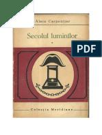 Alejo Carpentier - Secolul luminilor vol 1 [v1.0].docx