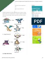 Pokémon PokéDex - Lista 718 Pokémon más Mega Evoluciones! _ Pagina 8 _ Poke & Play _ Pokemon y Videojuegos de Nintendo (GameBoy, Wii, Nintendo DS, GameCube y m�s)