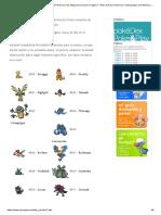 Pokémon PokéDex - Lista 718 Pokémon más Mega Evoluciones! _ Pagina 7 _ Poke & Play _ Pokemon y Videojuegos de Nintendo (GameBoy, Wii, Nintendo DS, GameCube y m�s)