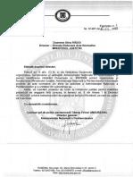 Proiect de Ordin privind angajarea fără concurs în penitenciare