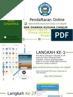 Tata Cara Pendafataran Online SMK Dharma Kusuma Cianjur.pptx