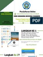 Tata Cara Pendaftaran Online SMK Dharma Kusuma Cianjur