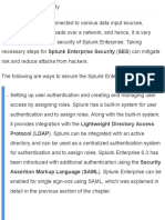 Splunk Enterprise Security - Advanced Splunk