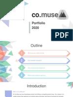 Co.muse Portfolio and Company Profile 2020