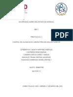 CONTROL DE CALIDAD EN EL LABORATORIO DE ANÁLISIS CLÍNICOS.