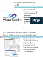 04-Visual Basic .NET - Exploitation Des Nouveaux Controles Windows Forms Et ion de Procedures_0