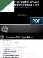 Comparison El UG Metro_WCTR 2010 Revised.ppt