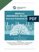 Menuju Indonesia Sejahtera