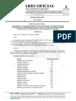 Resolución número O-212, de 2020. SERVICIO ELECTORAL - Determina cantidades mínimas necesarias de patrocinantes de candidaturas independientes para elecciones de Gobernadores Regionales y Municipales, a realizarse el año 2020.