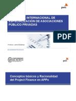 Conceptos Básicos y Racionalidad del Project Finance en APP