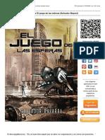 Descarga El juego de las esferas (Salvador Bayarri).pdf