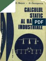 Calculul Static Al Halelor Industriale -  C. Rusca,  D. Georgescu