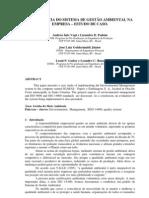 Estudo de caso1 - Gestão Ambiental