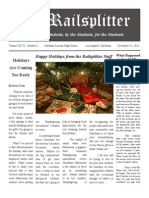 December Railsplitter