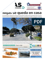 Mijas Semanal nº 883 Del 20 al 26 de marzo de 2020