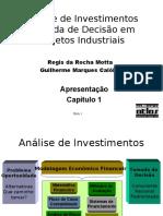 Análise de Investimentos Tomada de Decisão em Projetos Industriais