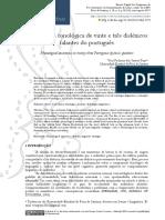 consciencia fonologica de 23 dislexios falantes de portugues