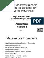 Análise de Investimentos Tomada de Decisão em Projetos Industriais cap02