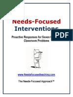 Needs-Focused-Interventions