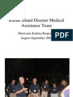 Rhode Island Disaster Medical Assistance Team