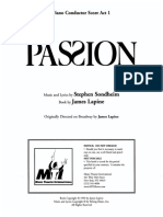 Passion (ENG Vocal Score)