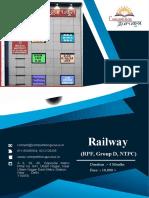 BEST RAILWAY COACHING INSTITUTE/CENTER IN DELHI, JANAKPURI, UTTAM NAGAR