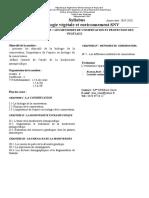 Syllabus méthodes de conservation et protection des végétaux