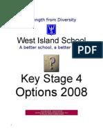 KS4 Booklet for 2008