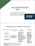 Materiales metalicos - Parte 1