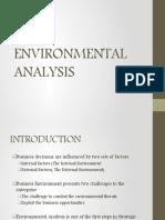 environment scanning sm