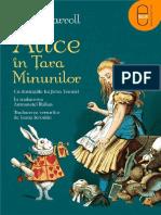 Lewis-Carroll Alice in Tara Minunilor