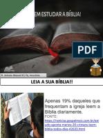 RAZÕES PARA LER A BIBLIA