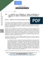 MANIFIESTO DE CARGA POR MEDIOS ELECTRONICOS