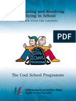 investigating and resolving bullying in schools