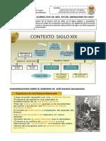 guia de estudio 1  GUERRA CIVIL DE 1891  , FIN DEL LIBERALISMO EN CHILE 3RO Y 4TO MEDIO  MODULO ELECTIVO
