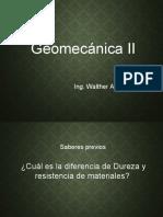 Geomecanica II - Clase 3