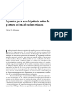 Schenone, Apuntes para una hipótesis