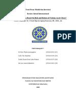 Review ARTIKEL TPM  SAP 6 return dan risiko portofolio