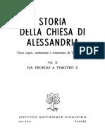 Orlandi_Storia della Chiesa di Alessandria_2_Da Teofilo a Timoteo II (1970)