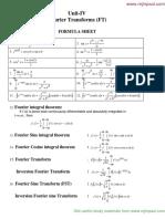 Rejinpaul TPDE Formula\Unit iv-FT_rejinpaul