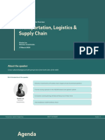 Fundnel Spotlight - ESG Deal Friday - Transportation, Logistics and Supply Chain